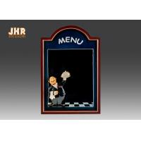 Buy cheap Black Wooden Wall Mounted Chalkboards Framed Menu Board For Restaurant from wholesalers