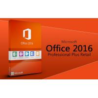 Wholesale best MS Office 2016 Profesional plus software Office 2016 Pro Plus key card 2016 office pro plus Original key code card from china suppliers
