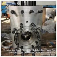 China Triplex Mud Pump Fluid End Module Premium Forged Alloy Steel With CNC Boring Mills on sale