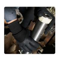 Buy cheap Men Cold Proof Nitrile Water Resistant Winter Gloves from wholesalers
