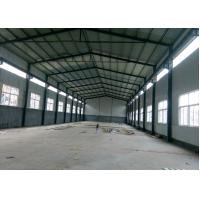 Buy cheap Lightweight Prefabricated Steel Warehouse With Overhead Crane from wholesalers