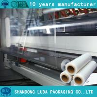 Buy cheap 23mic pallet shrink wrap plastic packaging film,hand pallet shrink wrap filme stretch from wholesalers
