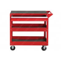 China Cold Steel Mechanic Utility Cart , Roll Around Work Cart  Separate Locking Systems on sale