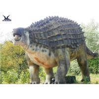 Buy cheap Animatronic Outdoor Dinosaur Statues , Dinosaur Yard DecorationsWith Infrared Ray Sensor product