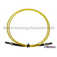 Buy cheap SM 9/125 Simplex Fiber Optic SMA To SMA Patch Cord With Stainless Steel Ferrule from wholesalers