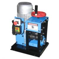 High Density Polyethylene Cable Stripping Machine Double Gear Rack / Ball Screw Driving
