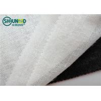 Wholesale 50% Polyester 50% Viscose Woven Fusible Interlining Brushed 90cm 150cm For Suits / Overcoat from china suppliers
