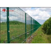 Buy cheap Anti Climb PVC Coated Wire Mesh Fence Panels 1530mm 1830mm 2030mm For Multi Color from wholesalers