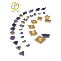 Buy cheap Hard Metal Tungsten Carbide Inserts For Machining Steel / Cast Iron 120-200M / Min from wholesalers