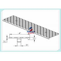 Buy cheap T3 / T6 6063 Anodized Industrial Aluminum Profile With Aluminum Stair Part from wholesalers