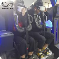 Wholesale Black / Blue VR Motion Simulator Game Machine Two Seats  VIULUX V8 Glasses from china suppliers
