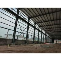 Buy cheap Multifunctional Steel Structure Construction For Poultry Fame Shed With Grey Color from wholesalers