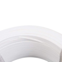 Buy cheap Embossed PVC PE Full 0.8mm Plastic Nose Wire For Earloop Mask product