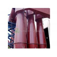 Buy cheap Red Cyclone Dust Separator Collector / Cement Dust Collector Filter Long Using Life from wholesalers