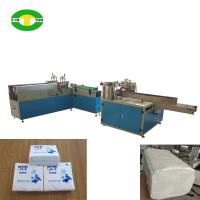 China High speed two heads tissue paper bagging and sealing machine on sale