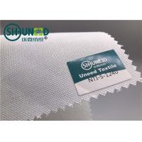 Buy cheap Plain Weave Polyester Woven Interlining Fabric Single Side Brushed For Men Necktie from wholesalers
