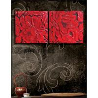 Buy cheap Wall sculpture w/peonies from wholesalers