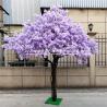 Buy cheap Safe Jacaranda Wood Purple Artificial Flower Tree Fire Retardant from wholesalers