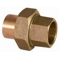 Buy cheap Sintered Female Brass Plumbing Fittings , Equal Shape Plumbing Hose Fittings from wholesalers