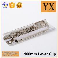 Buy cheap China Supplier Nickel Metal lever clips high quality lever arch clip from wholesalers
