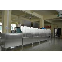 Buy cheap 1900H 7300W 850D Stainless Steel Commercial Dishwasher Dispenser inside for Staff canteens from wholesalers