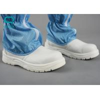 Buy cheap Steel Cap Clean Room Boots , ESD Steel Toe Boots Customized Color from wholesalers