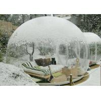 Wholesale Outside Transparent Bubble Room Tent 3M / 4M / 5M / 6M Dia Or Customized Size from china suppliers