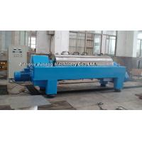 China Super Solid Bowl Decanter Centrifuge For Dewatering Requirements on sale