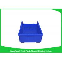 Buy cheap Shelf Wall Mounted Industrial Plastic Storage Boxes , Heavy Duty Plastic Stackable Bins from wholesalers