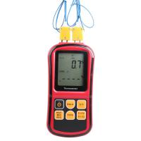 Wholesale GM1312 Digital Thermometer Dual-channel LCD Display Temperature Meter Tester for K/J/T/E/R/S/N Thermocouple from china suppliers
