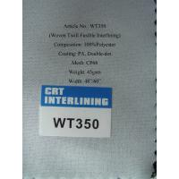 China Woven Twill Fusible Interlining on sale
