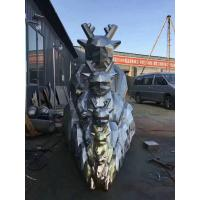 Buy cheap Motorbike Shaped Famous Abstract Sculptures Outdoor Large Yard Art Sculptures from wholesalers