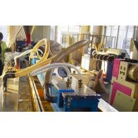 Buy cheap PE Plastic Pp Extruder Machine for Wood Foamed Profile and Plate from wholesalers