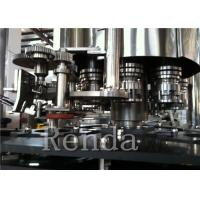 Buy cheap Soda Filling Carbonated Drink Filling Machine 10000BPH Stainless Steel Material from wholesalers