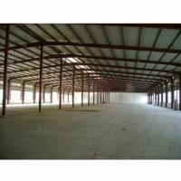 Buy cheap Steel Workshop with Mezzanine Floor, Internal Office and Multi-usage from wholesalers