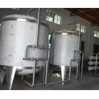 Food Industrial Water Treatment Equipment Stainless Steel Water Tanks for Beverage Plant Manufactures