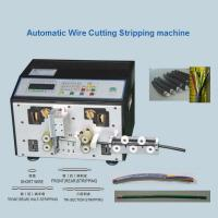 Buy cheap Multi - Core Cable Cutting Stripping Machine  Wire Cut Strip Crimp Machine from wholesalers