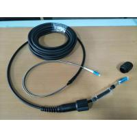 Buy cheap Armored CPRI patch cord, 2F CPRI cable, LSZH, PDLC-DLC connector, FTTA, armored tube assebmly from wholesalers