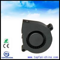 Buy cheap 51mm Plastic DC Centrifugal Fan  5v 12v 24v Black For Car with Dual Ball Bearing from wholesalers