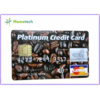 Buy cheap Customized Gift Plastic Credit Card USB Storage Device from wholesalers