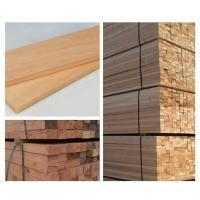 Buy cheap White Rough Wood Sawn Timber , Anti Corrosive Sauna Bench Wood Eco Friendly from wholesalers