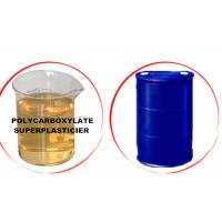 Buy cheap Different Solid Content Polycarboxylate Concrete Admixtures With IBC Tank / Drum from wholesalers