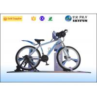 Buy cheap 3D / 4D / 5D / 7D / 9D Virtual Exercise Bike , Indoor Cycling Simulator With 9D VR Cinema from wholesalers