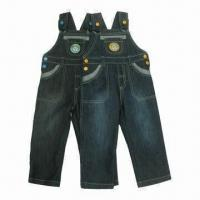 Buy cheap Jeans Pants for Boys, Suspender jeans, Overalls/Original Fashionable Design, OEM/ODM Orders Welcomed from wholesalers