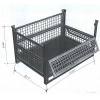Buy cheap Custom Size Wire Container Storage Cages , Metal Cage Storage Durable Electro Galvanized from wholesalers
