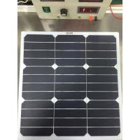 Buy cheap 50W SunPower Flexible Solar Panels , Solar Panel For RV Battery Charging from wholesalers