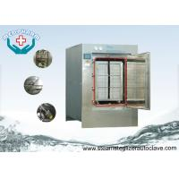Buy cheap Hinge Door Pass Through Large Steam Sterilizer With Low Water Indication System from wholesalers