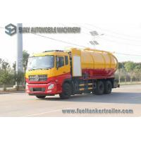 Buy cheap Dongfeng 15000L 10 Wheel Vacuum Tank Truck 270hp High Pressure Cleaning And Sewage Suction from wholesalers