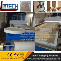 Buy cheap high speed PVC doors interior automatically vacuum membrane press machine from wholesalers