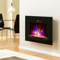 Buy cheap wall mounted fireplace wall hang real flame effect,colorful style,LED lights,Red,Orange,Blue,EF550/EF550K,space heater from wholesalers